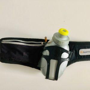 Nathan Running Belt/Pack w/ Pocket & Water Bottle